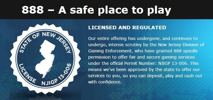 Nj casino gaming license