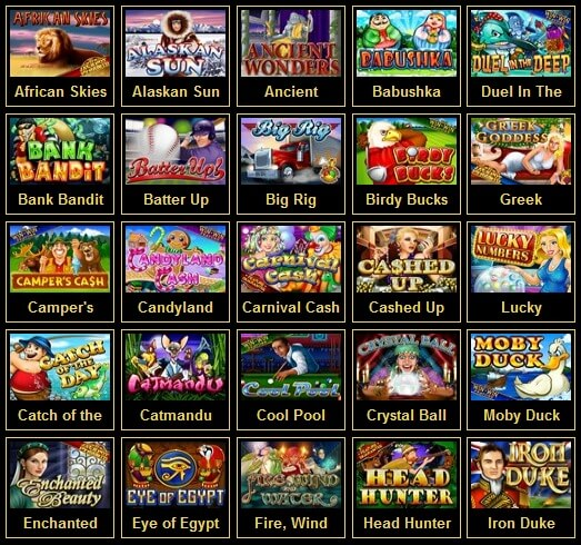 Games available on Buzzluck casino